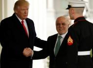 Donald Trump Haydar el-İbadi'yi kabul etti