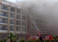 Ordu'da 5 yıldızlı otel yangını