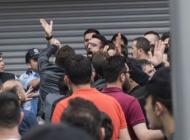 Ramazan Şahin'in cenazesinde gerginlik yaşandı
