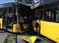 Metrobüs kazasında 32 kişi yaralandı