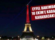 Eyfel Kulesi Bakım Nedeniyle 10 Ekim'e Kadar Kararacak