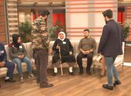 Canlı yayında polisi karşısında gören yaşlı kadın şaşkına döndü