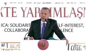 Erdoğan:Kamuoyunu İslam'dan soğutmaya çalışıyorlar