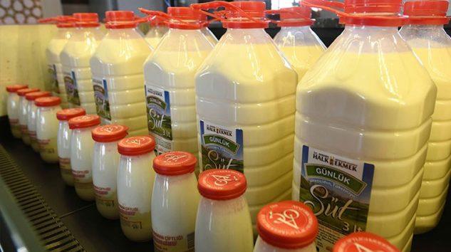 Ankara'da Halk Süt satışı başladı