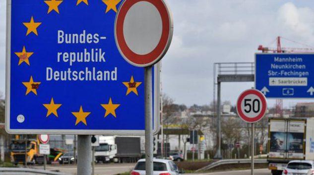 Almanya'dan sınırları kapatma kararı