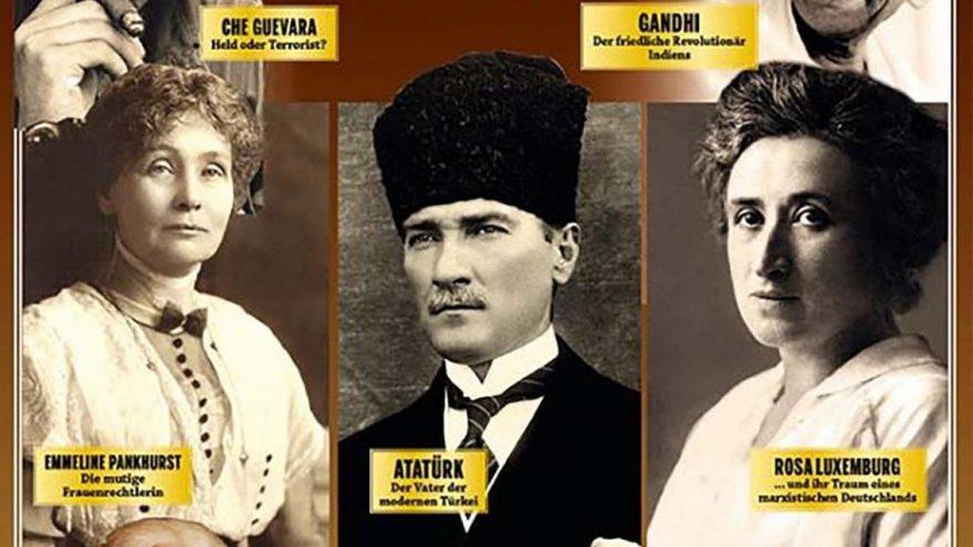Alman dergisi merkeze koydu! Dikkat çeken Atatürk kapağı