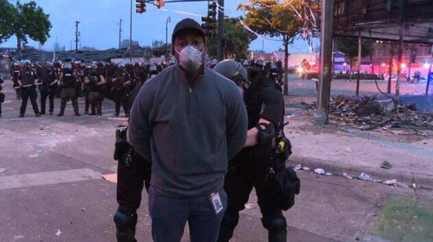 ABD polisi CNN muhabirini canlı yayında gözaltına aldı