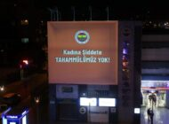 Fenerbahçe'den anlamlı mesaj: 'Kadına şiddete tahammülümüz yok'