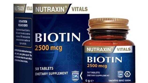 Nutraxin Biotin